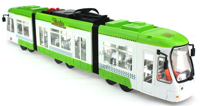 2015 Brinquedos Metro Double City Train Kids Toys For