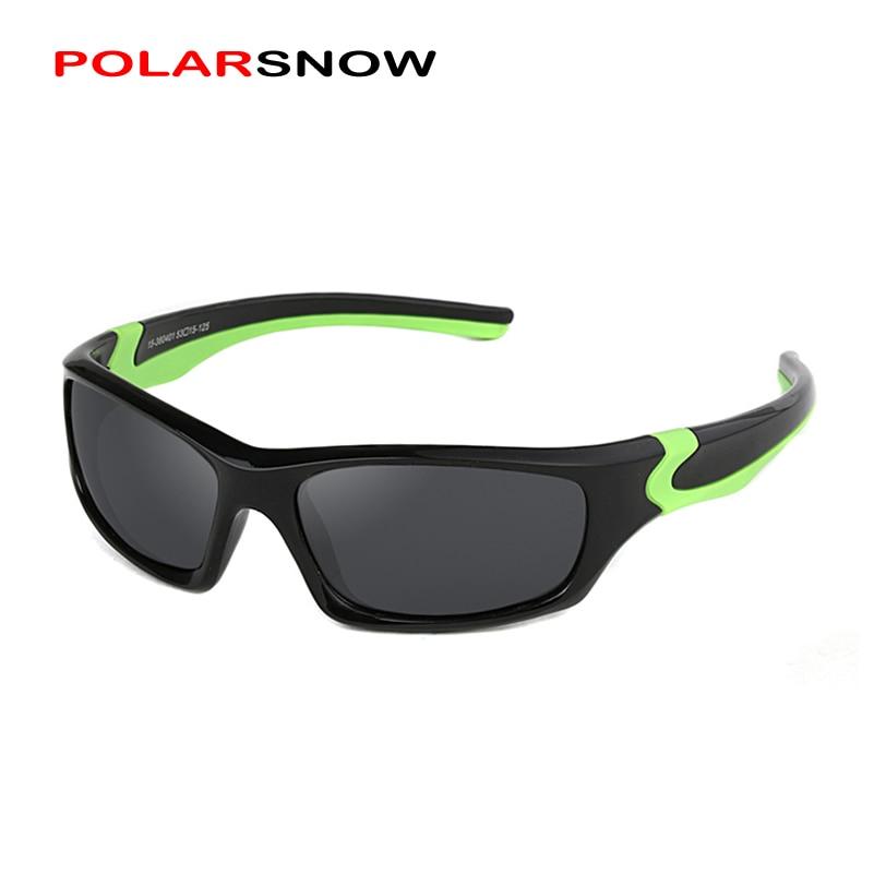 POLARSNOW Kids Sunglasses 2017 Polarized Brand Designer Childrens Sun Glasses Baby Eyeglasses 100%UV Protection Oculos De Sol mundorf mkp mcap supreme silver oil 1000 vdc 2 2 uf