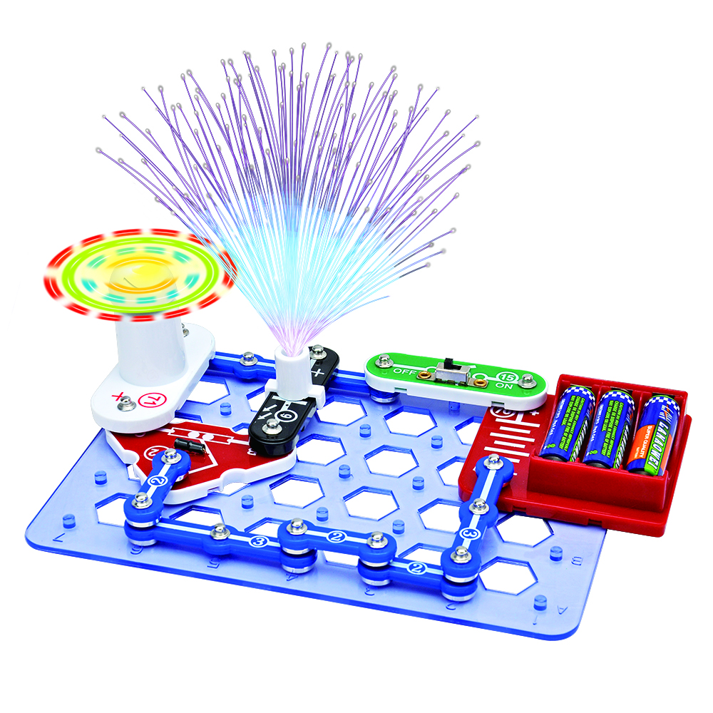 Snap Circuits STEM Toys For Children Educational Learning Integrated Building Blocks Circuit Brick Science Physics Experiment