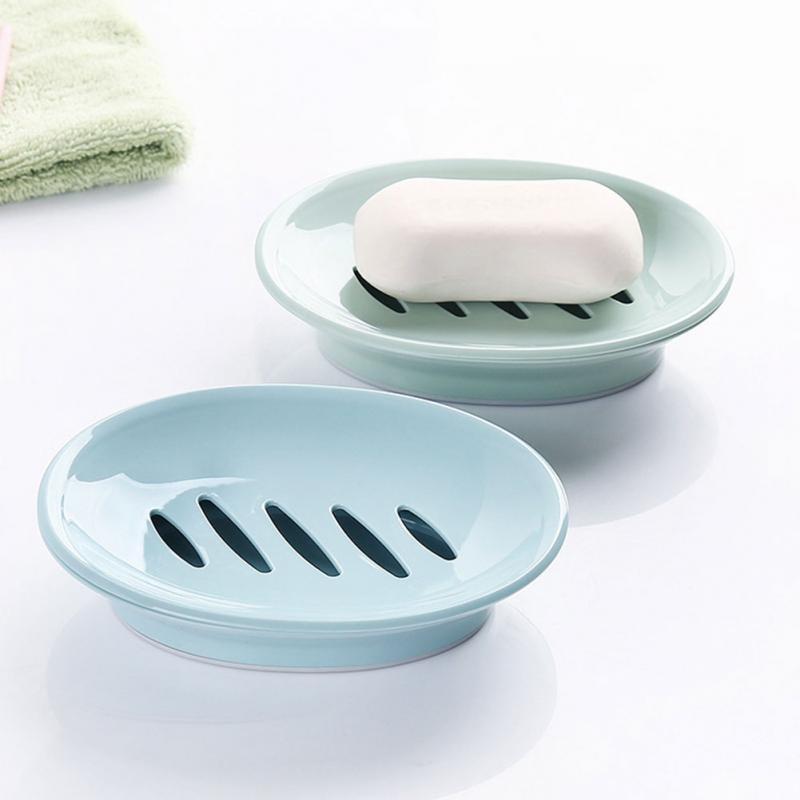 Двойной каркасный мыло блюдо Box Дело держатель Контейнер для дома для ванной для душа путешествия