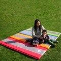 AOTU Self Inflate Foam Sleeping Mat Camping Mattress Air Bed Double Single Roll Up