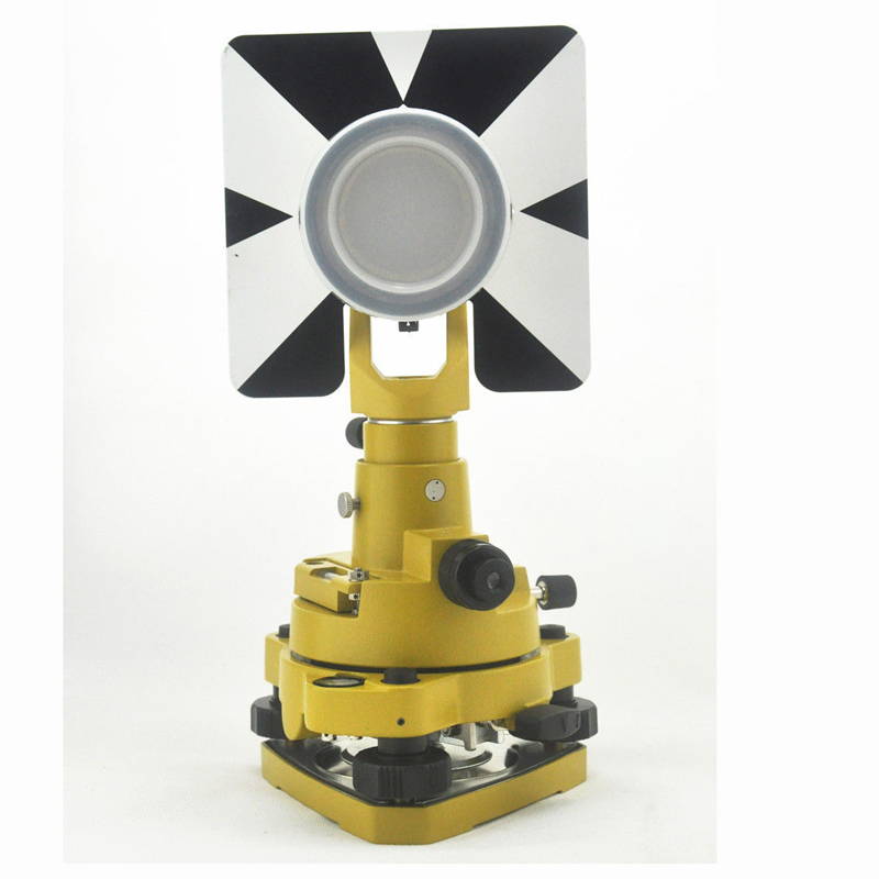 NEW Single Prism Set for  total station , Dia. 64mm 0mm offset