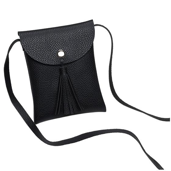 FGGS-Tassel Bag Women Bag Handbags Crossbody Sling Summer Leather Over Shoulder Tassel Phone Purse Small
