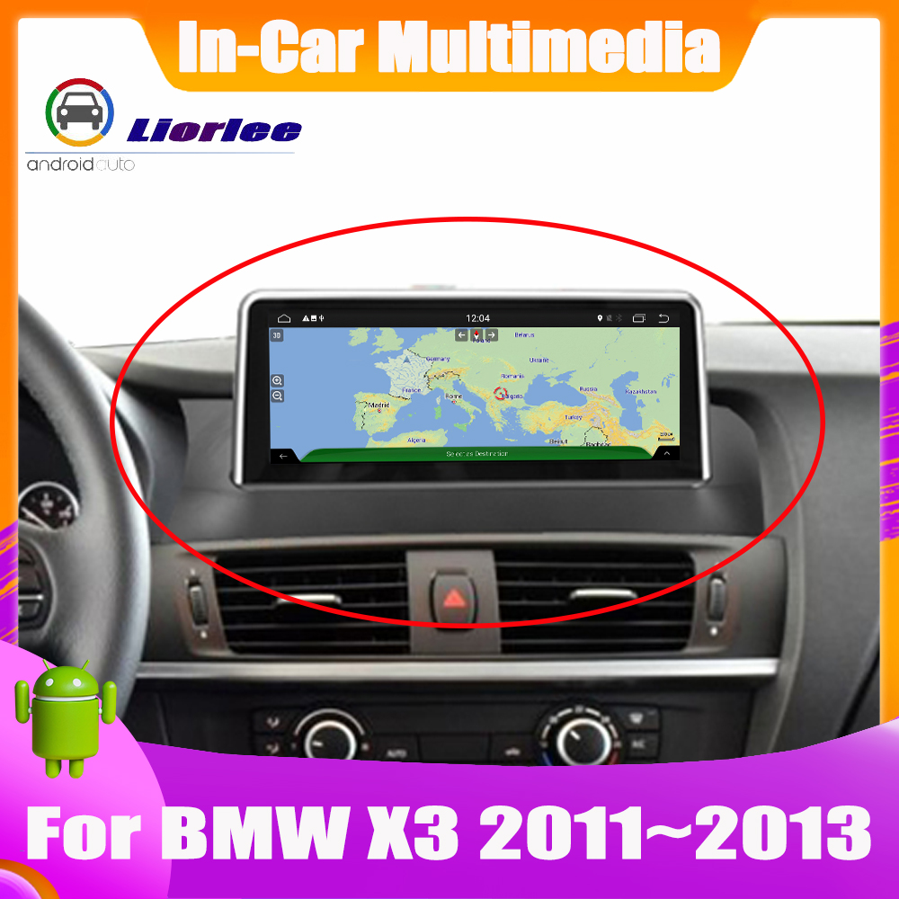 Car GPS Player For BMW X3 F25 2011~2013 original NBT System Autoradio Navigation Android HD Screen