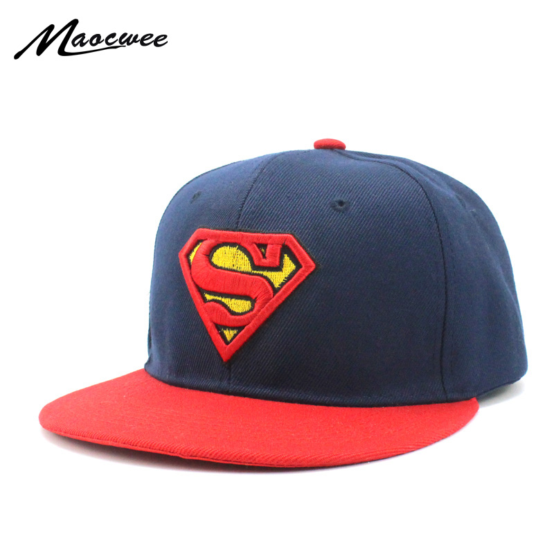 Children's hats Superman Baseball Cap pokemon baby hat Fashion Iron Man Captain Batman Spider-Man Snapback Boys Hip Hop Kids Hat new 2017 hats for women mix color cotton unisex men winter women fashion hip hop knitted warm hat female beanies cap6a03