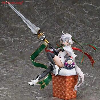 Anime Christmas Joan of Arc figure 27CM PVC model collectible Action Figure Anime Action Figure Saber HA77