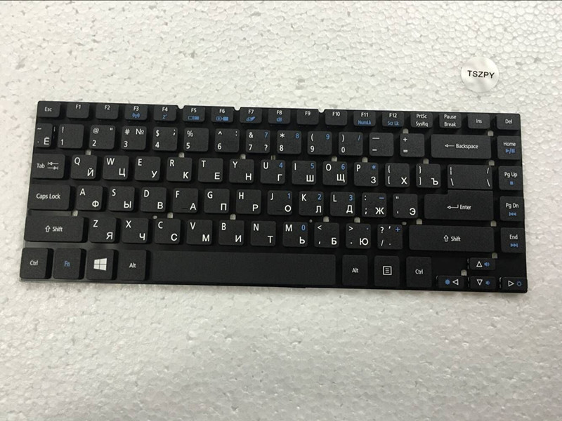 New Russian Keyboard for <font><b>Acer</b></font> <font><b>Aspire</b></font> 3830 3830T 3830G 3830TG <font><b>4830</b></font> 4830T 4830G <font><b>4830TG</b></font> 4755 4755G Laptop Russian Keyboard image