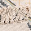 Retro Stylized Cotton Rug 4