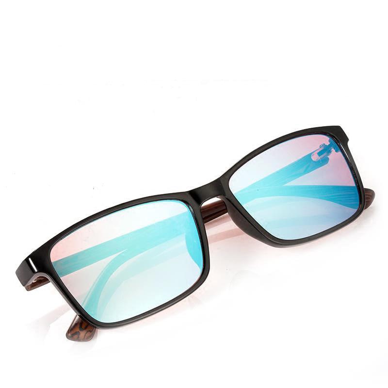 Los hombres y las mujeres la ceguera de Color rojo gafas de Color verde ciego correctivas HD gafas daltónico, licencia de conductor gafas