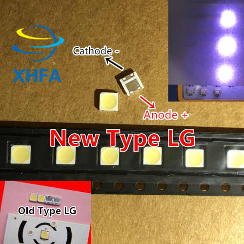 Untuk TV LCD Perbaikan LG LED TV Backlight Strip Lampu dengan Lampu-Emitting Diode 3535 SMD LED Beads 6V 50 Pcs
