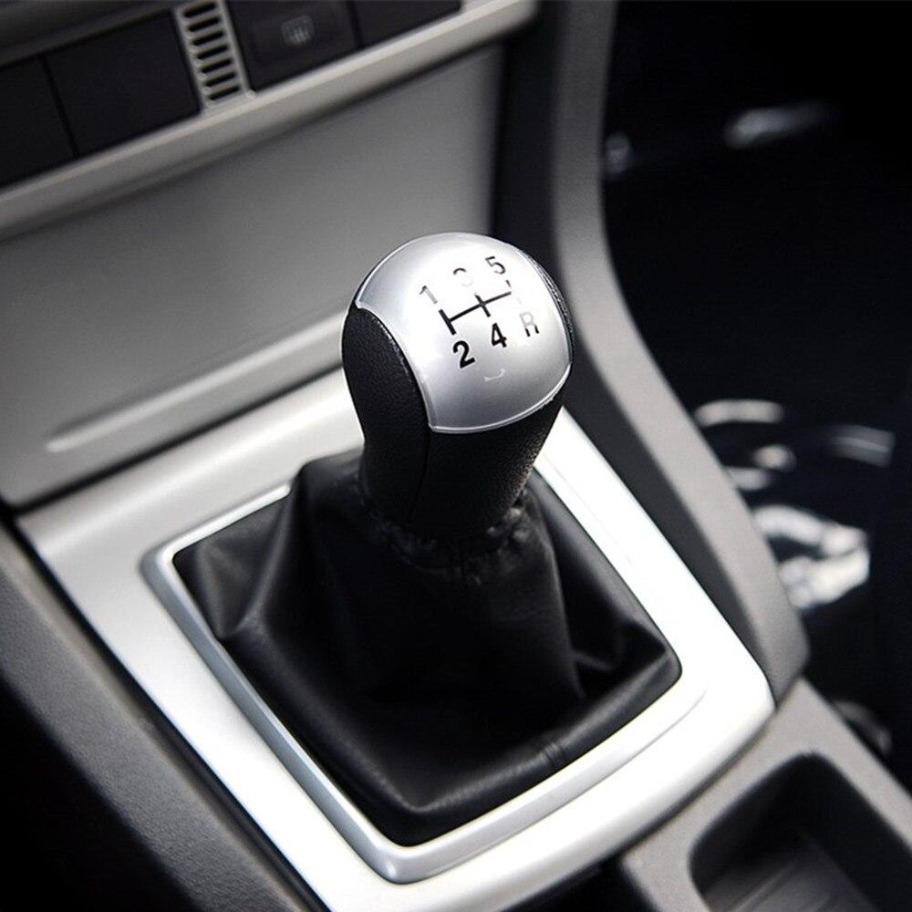 Color My Life 5-Speed MT Gear Stick Shift Knob Gear Head Knob for Ford Focus 2 Mondeo MK3 Fiesta Transit Mustang Galaxy Parts gear shift