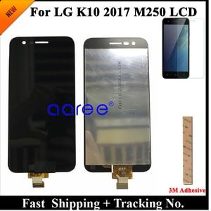 Image 2 - 100% اختبار LCD ل LG K10 2017 LCD ل K10 2017 عرض M250 M250N M250E M250DS عرض شاشة LCD مجموعة رقمنة اللمس