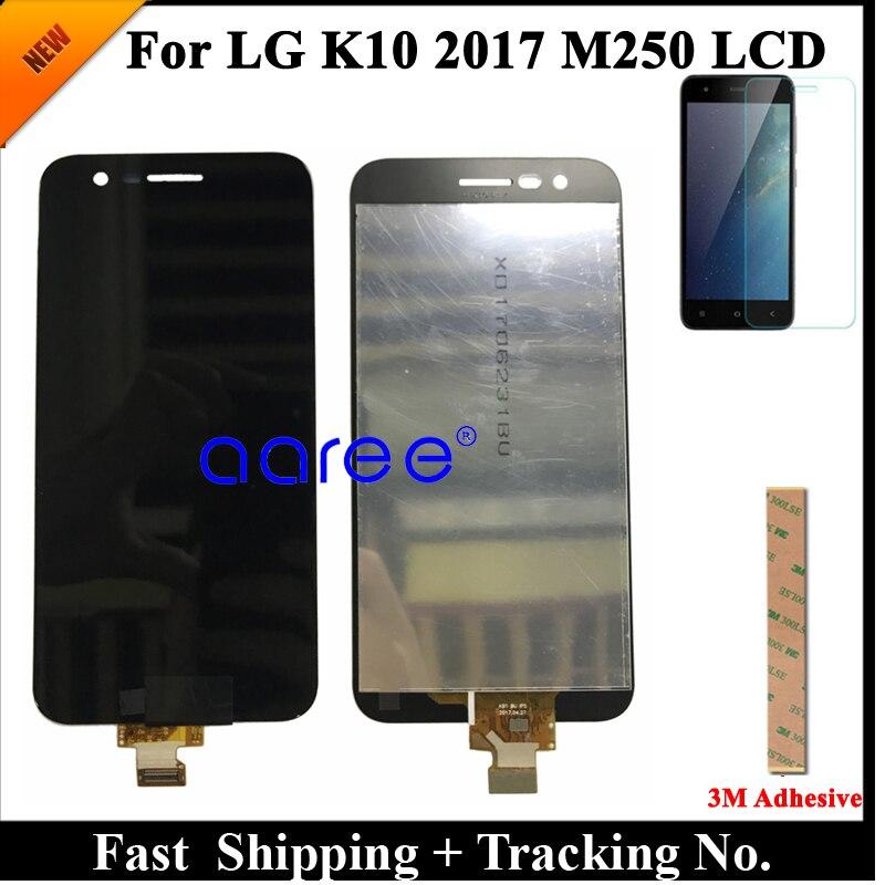 Image 2 - 100% протестированный ЖК дисплей для LG K10 2017 LCD для K10 2017 дисплей M250 M250N M250E M250DS дисплей ЖК экран сенсорный дигитайзер сборкаЭкраны для мобильных телефонов   -