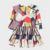 O Vestido da menina Nova DesignPrint Padrão Roupas Crianças da Queda do Inverno Do Natal Roupas Trajes Dos Desenhos Animados Do Partido Da Princesa Vestido de Manga Longa