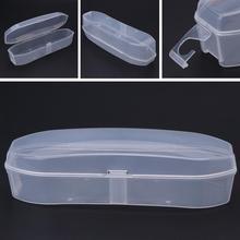 Плавательная стеклянная коробка, прозрачные очки, портативный пластиковый чехол, унисекс, защита от запотевания, водонепроницаемая коробка для очков