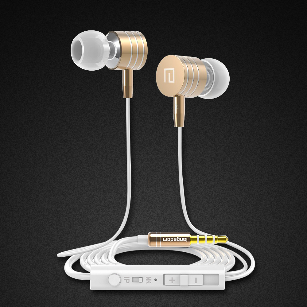 HIFI Earphone Adjust Volume Super Clear Bass Stereo earphones Gaming Noise Cancelling For Xiaomi Huawei iPhone MP3 mp4