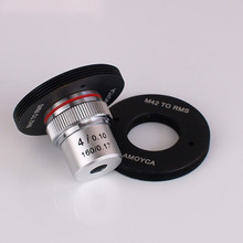 Cheapest prices Aluminum Adapter Ring Mount for Microscope Objective Lens RMS to M42 X1 Use on Digital Camera