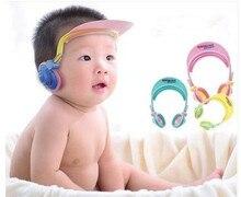 Kids Bath Head Cap Visor Water Soap Shampoo Face Protection Guard Protector Adjustable