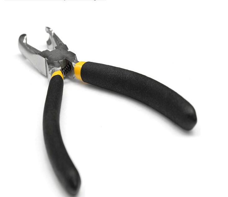 Led pixel lamp pliers gripping pliers tools for led pixel perforated word light bulb piercing forceps in Portable Lighting Accessories from Lights Lighting