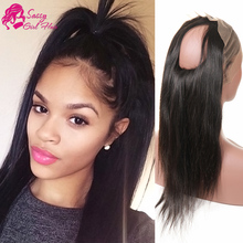 New Product Brazilian Virgin Hair 360 Lace Frontal Straight With Baby Hair Lace Frontal Wig 360 Lace Front Ponytail Presell