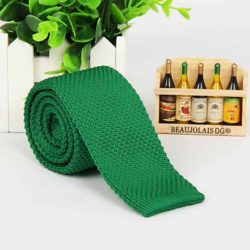 HTB1DrC9LpXXXXcuXXXXq6xXFXXXy - Vintage Style Plain Color Knitted Ties