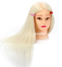 85% natural hair mannequin head doll with female display practice