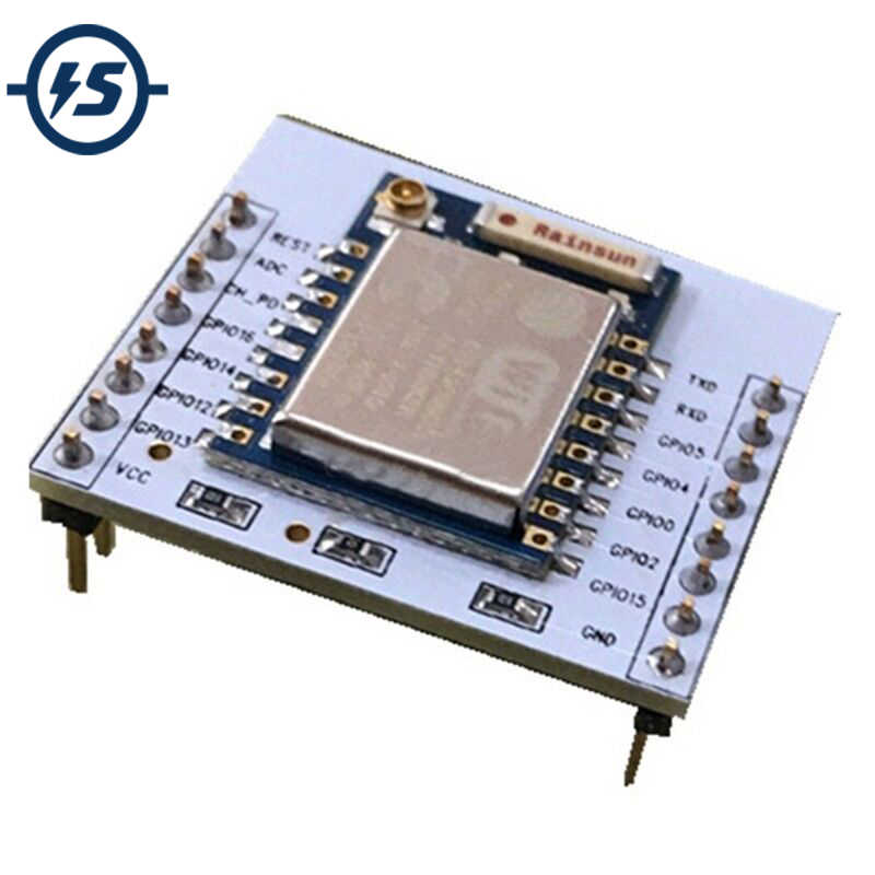ESP8266 Esp-12 Remote Serial Port WIFI Module with IO adapter plate Expansion