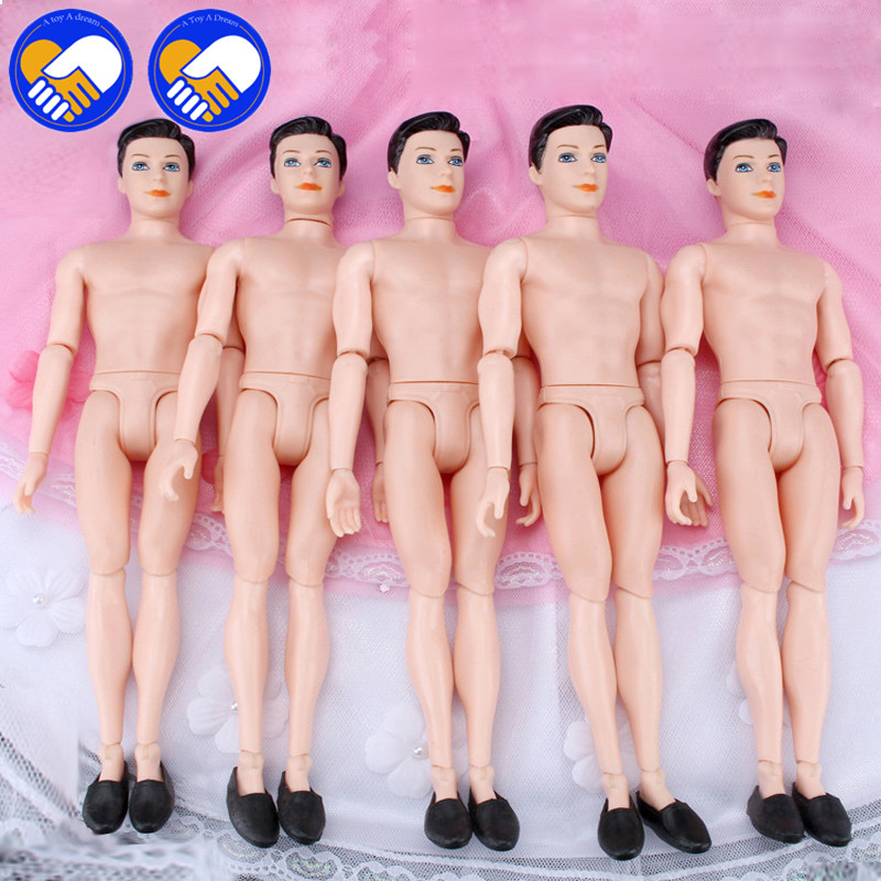 A TOY A DREAM Moveable 14 Joints Prince Nude Doll Body 1/6 Naked Man Body With head shoes For Ken Male Doll's Toys doll gift картридж epson original t11154a10 светло голубой замена t0815 для r270 390 rx590 повышенной емкости
