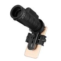 Nieuwste Universele 10x40 Wandelen Concert Camera Telescoop Lens Zoom Mobiel Telescoop Camera Lens Telefoon Houder Voor Smartphones