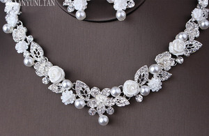 Image 5 - Hat Bridal Wedding Hat Sets Womens Bridal Hat Vintage Crystal Wedding Accessories Fashion