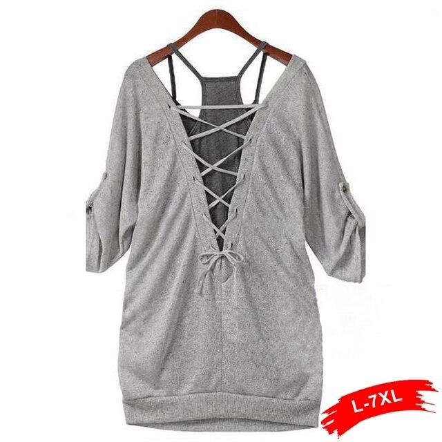 Plus Size Women Twinset T-shirt 8XL 7XL 6Xl 5Xl Xxxl Xxxxl XLNew Autumn Casual Loose Twinset Half Sleeve T-Shirt  Big Size Top