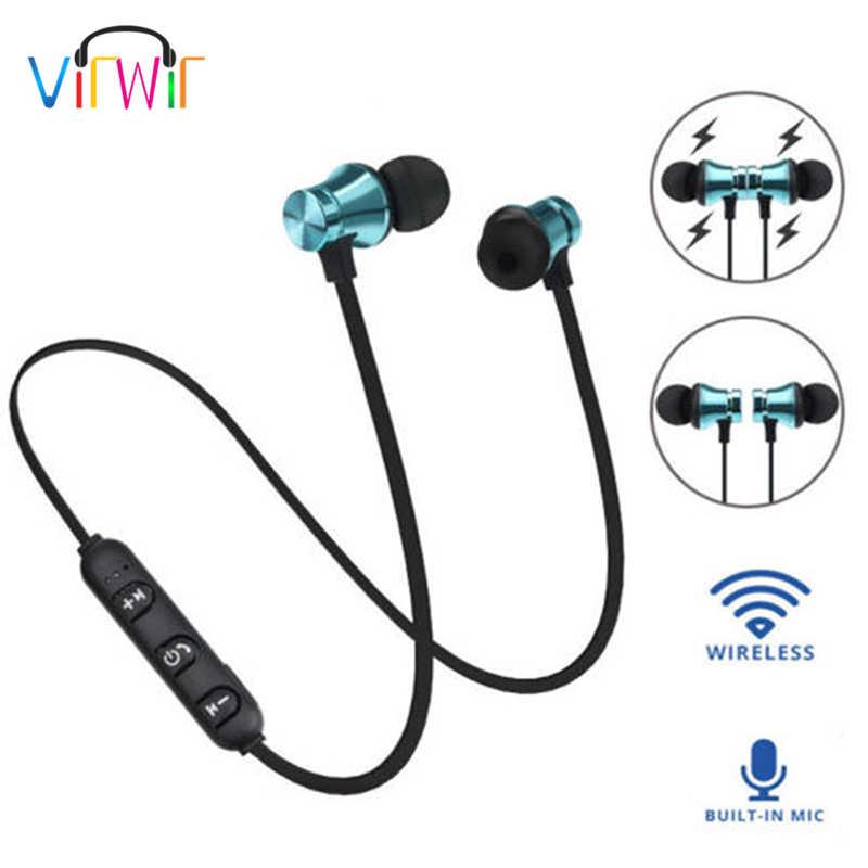 VirWir Bluetooth наушники беспроводные наушники Bluetooth гарнитура  SweatProof магнитные спортивные наушники наушник для мобильных телефонов 7a3e48affc595