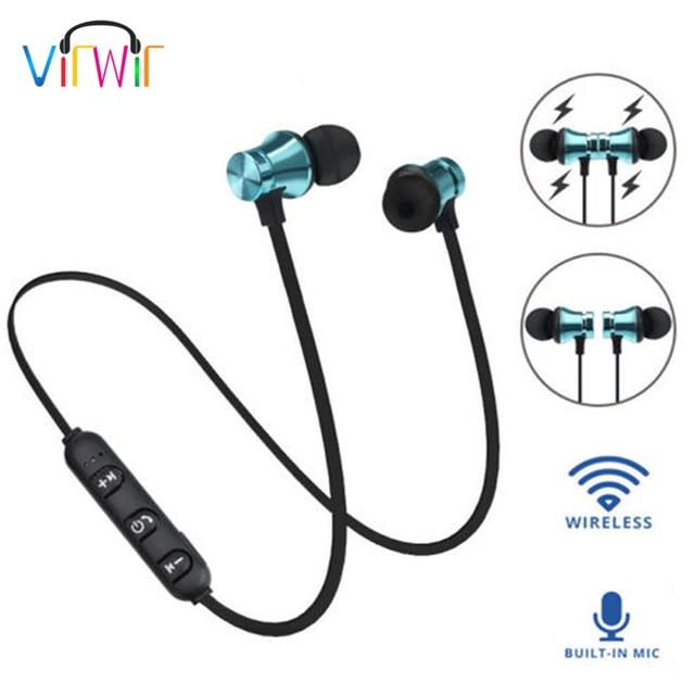 Virwir écouteurs Bluetooth Casque Audio Sans Fil Casque Bluetooth