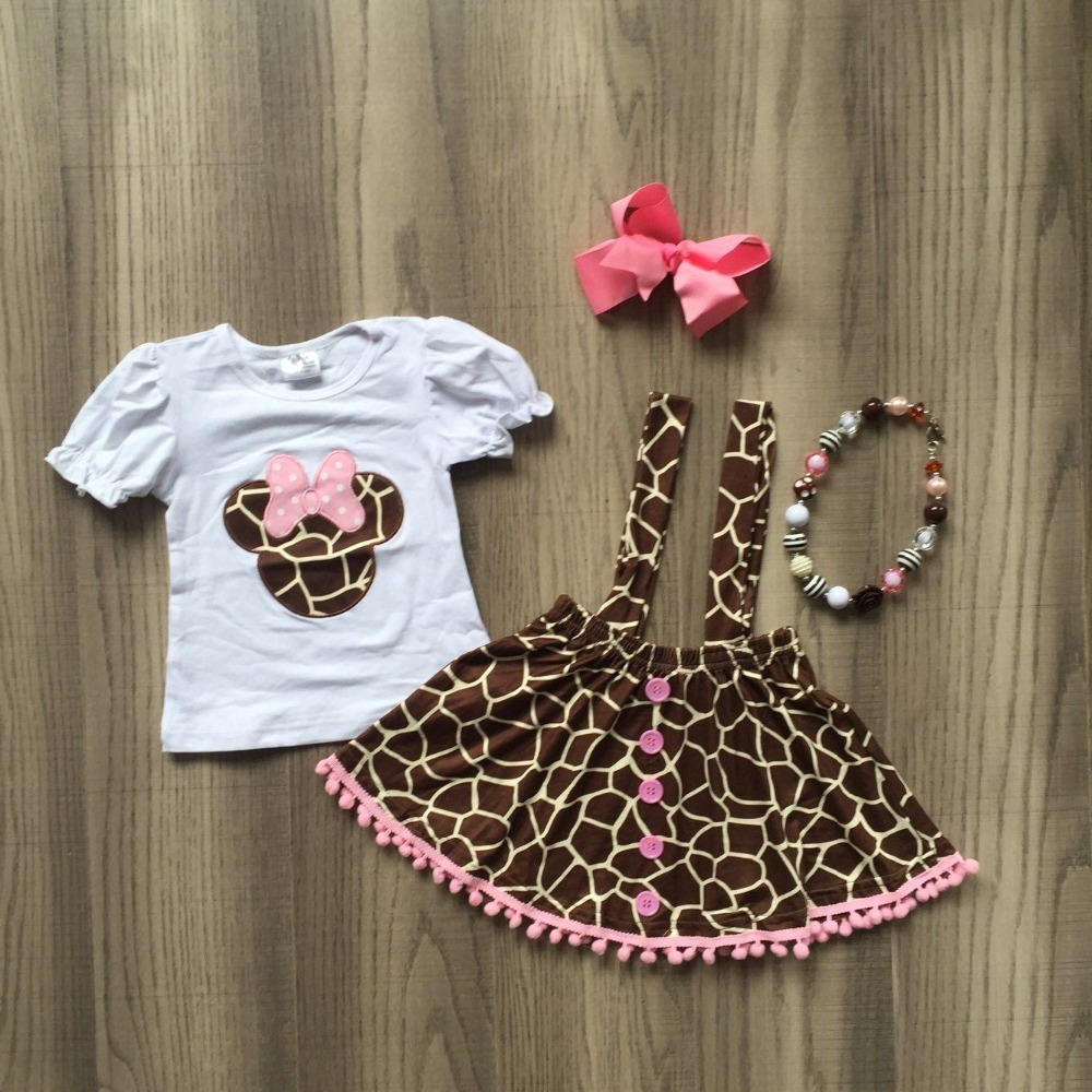 baby girls summer new arrival outfits leopard print cartoon top and leopard print trousers outfits with accessoriesbaby girls summer new arrival outfits leopard print cartoon top and leopard print trousers outfits with accessories