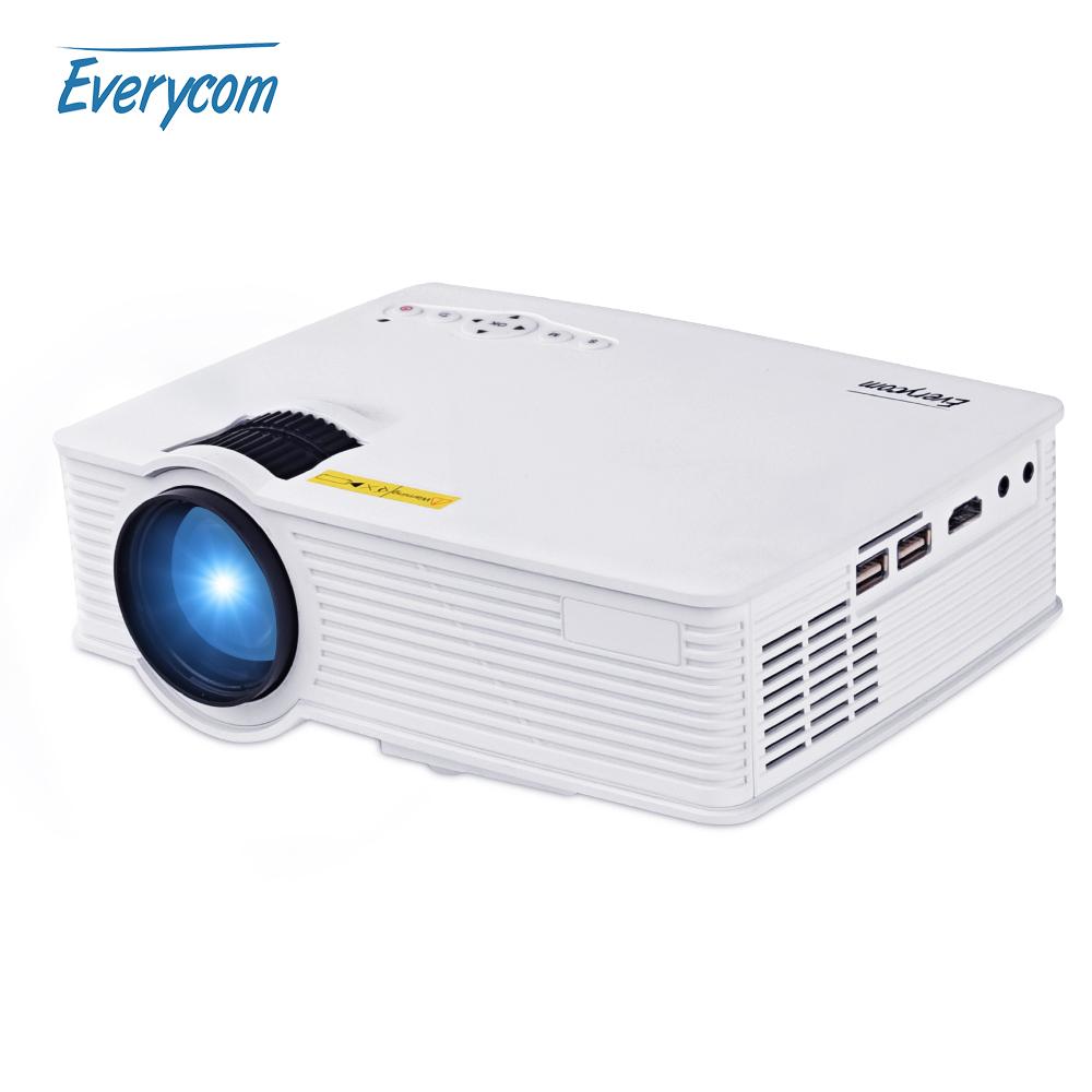 Prix pour Everycom uc40s portable android 4.4 projecteur wifi miracast airplay home cinéma full hd support de la vidéo 1920x1080 projecteur hdmi