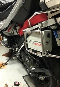 Image 2 - Đối với BMW R1200GS LC Phiêu Lưu hộp công cụ 2013 2018 trang trí Nhôm hộp công cụ 5 lít cho tay trái khung r1200gsa 14 18