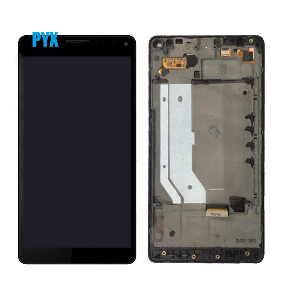 """Noir pour 5.7 """"Microsoft Nokia Lumia 950Xl LCD écran tactile numériseur assemblée avec cadre pour Lumia 950 XL RM 1116 LCD-in Écrans LCD téléphone portable from Téléphones portables et télécommunications on AliExpress - 11.11_Double 11_Singles' Day 1"""