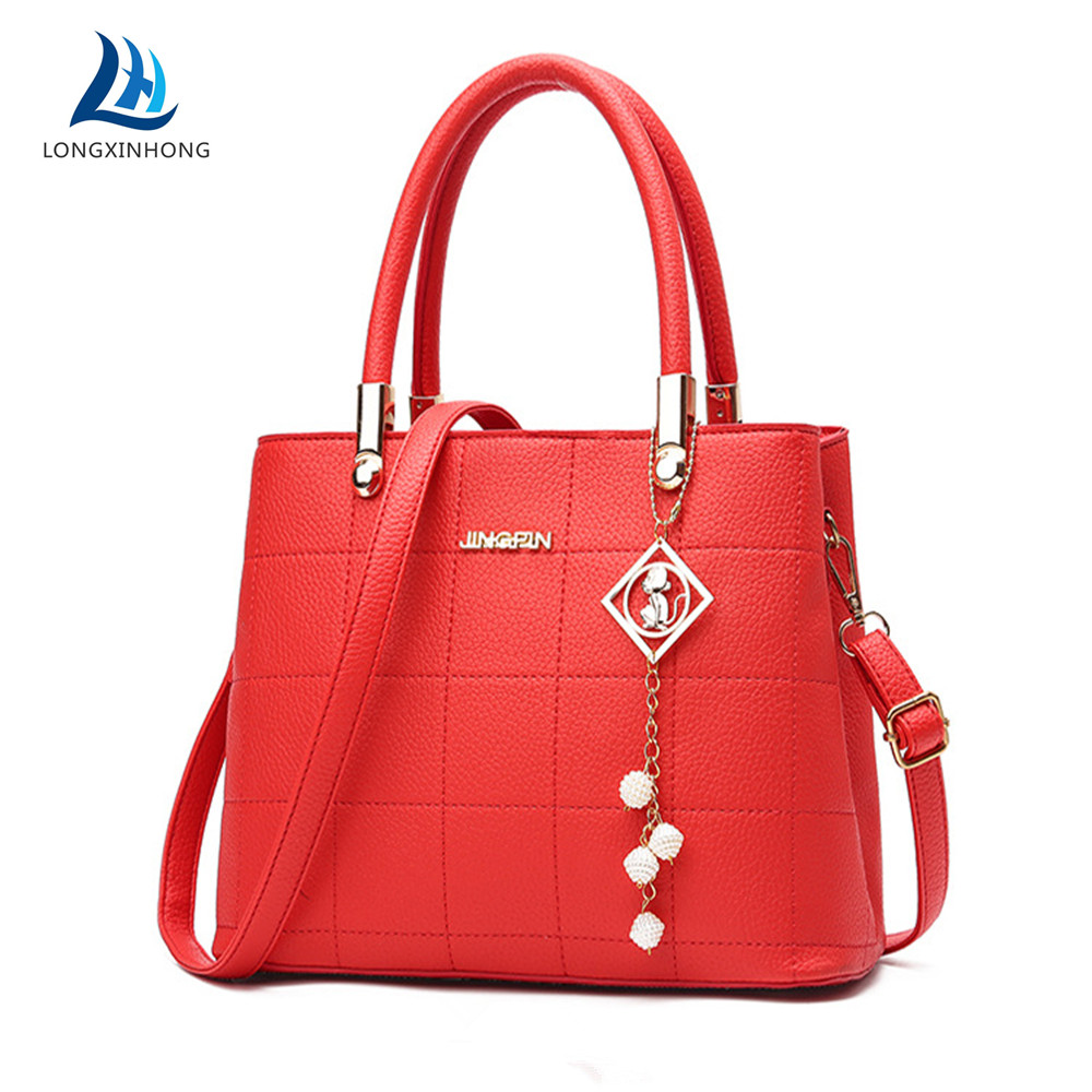 Nouveau Crocodile Pattern Genuine Leather Women Clutch Wallet sacs à main femme sac à main