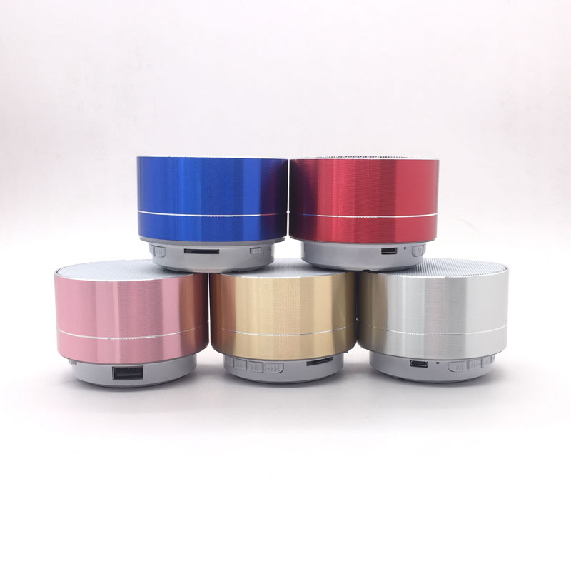 Brand new Bluetooth Speaker A10 Bass Handsfree Music Bass Subwoofer Stereo Speaker TF Card Aux in Aluminum Alloy image