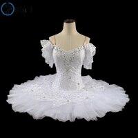 White Swan Lake Ballet Tutu Ballet Stage Costumes Professional Classical Ballet Tutu For Performance Tutu Ballet