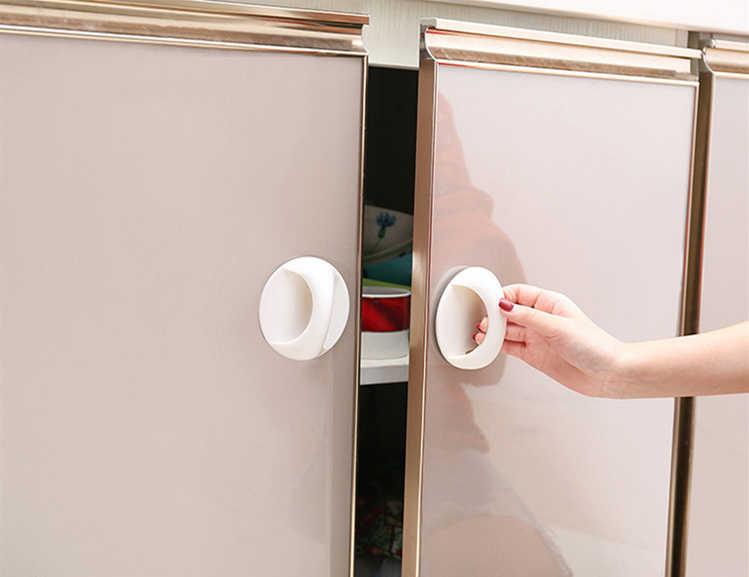 Универсальные универсальные дверные и оконные вспомогательные ручки простые пасты маленькие ручки для дома, офиса дверные защитные дверные ручки