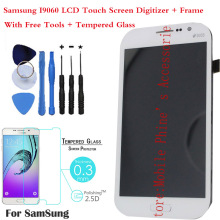 OEM LCD Display Screen Digitizer Touch+Frame Assembly For Samsung Galaxy Grand Neo i9060 White