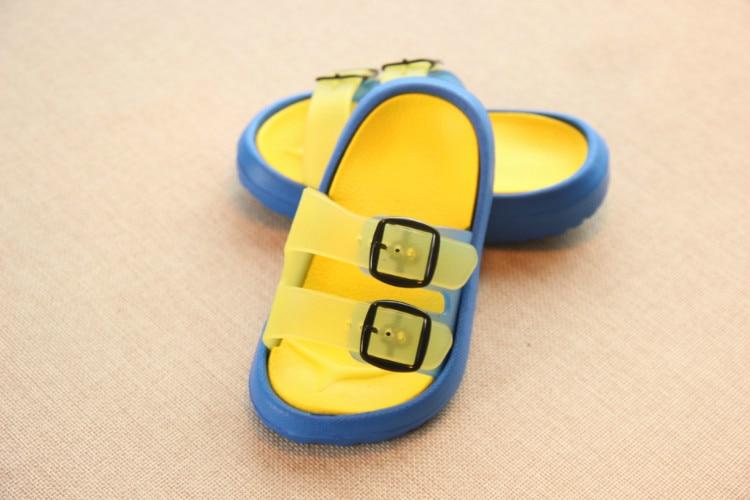 Slippers Kids for Girls Beach Sandals Summer Baby Slippers Boys Flat House Flip Flop Children Non-slip Korea Home Casual Shoes 5