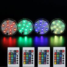 1 шт.* аксессуары для кальяна светодиодный светильник s для кальяна Светодиодный светильник s с пультом дистанционного управления ваза светильник для свадебной вечеринки