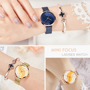 Image 5 - MINIFOCUS Woman Watches 2020 Top Brand Luxury Women Watch Rose gold Quartz Female WristWatch Ladies Clock Girl Relogio Feminino