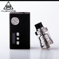 Augvape Original Eletronic Cigarette Box Mod Kit 60W Zoom 60 Box Mode Merlin Mini RTA Atomizer