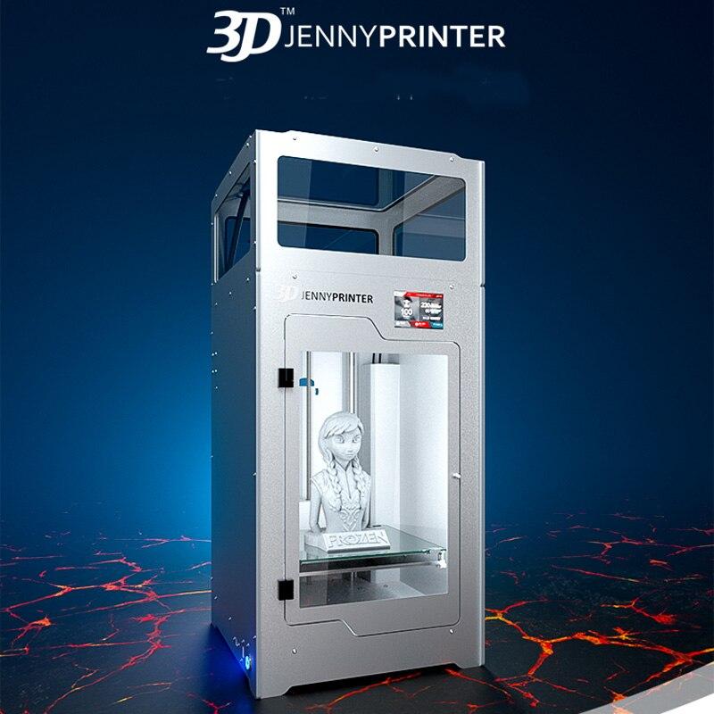 2018 JennyPrinter Z370 buse d'extrudeuse imprimante 3D kit de bricolage pour Ultimaker 2 UM2 étendu avec couvercle supérieur et porte