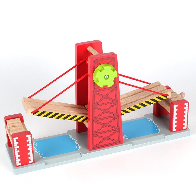 Train Toys Railway Track TTC47 Y BRIDGE Fit for Truck Car Brio Toys for Boys Engine Models Building Toy