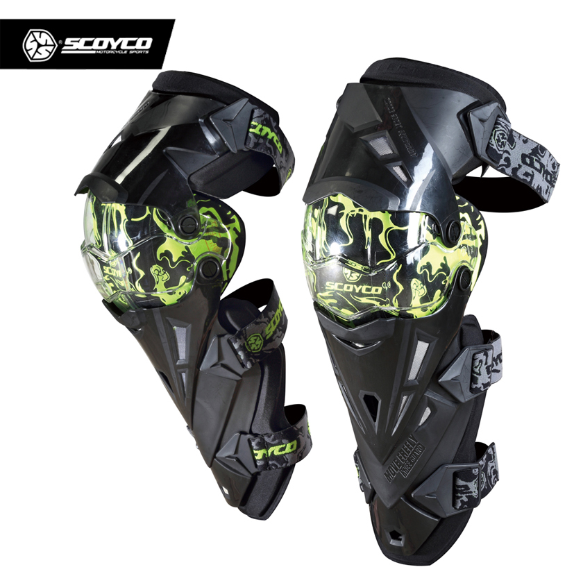 SCOYCO Motorcycle Protective Kneepad Knee Protector equipment joelheiras Motocross Guards Racing Moto Protector Sports Kneepad thor force knee guards