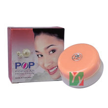 wholesale POP Pearl whitening & Removal of spots Facial Cream 20g/pcs Concealer skin care in 7 days  12pcs/lot